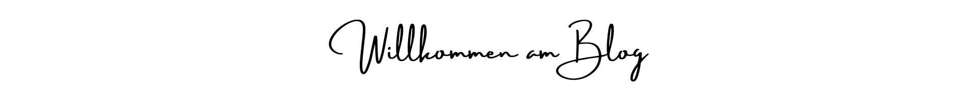 Willkommen am Blog