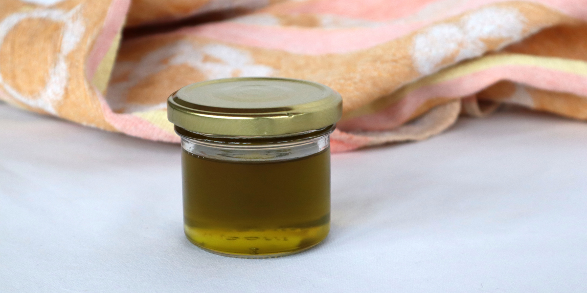 Gesichtsreinigungsöl aus Hanföl und Rizinusöl